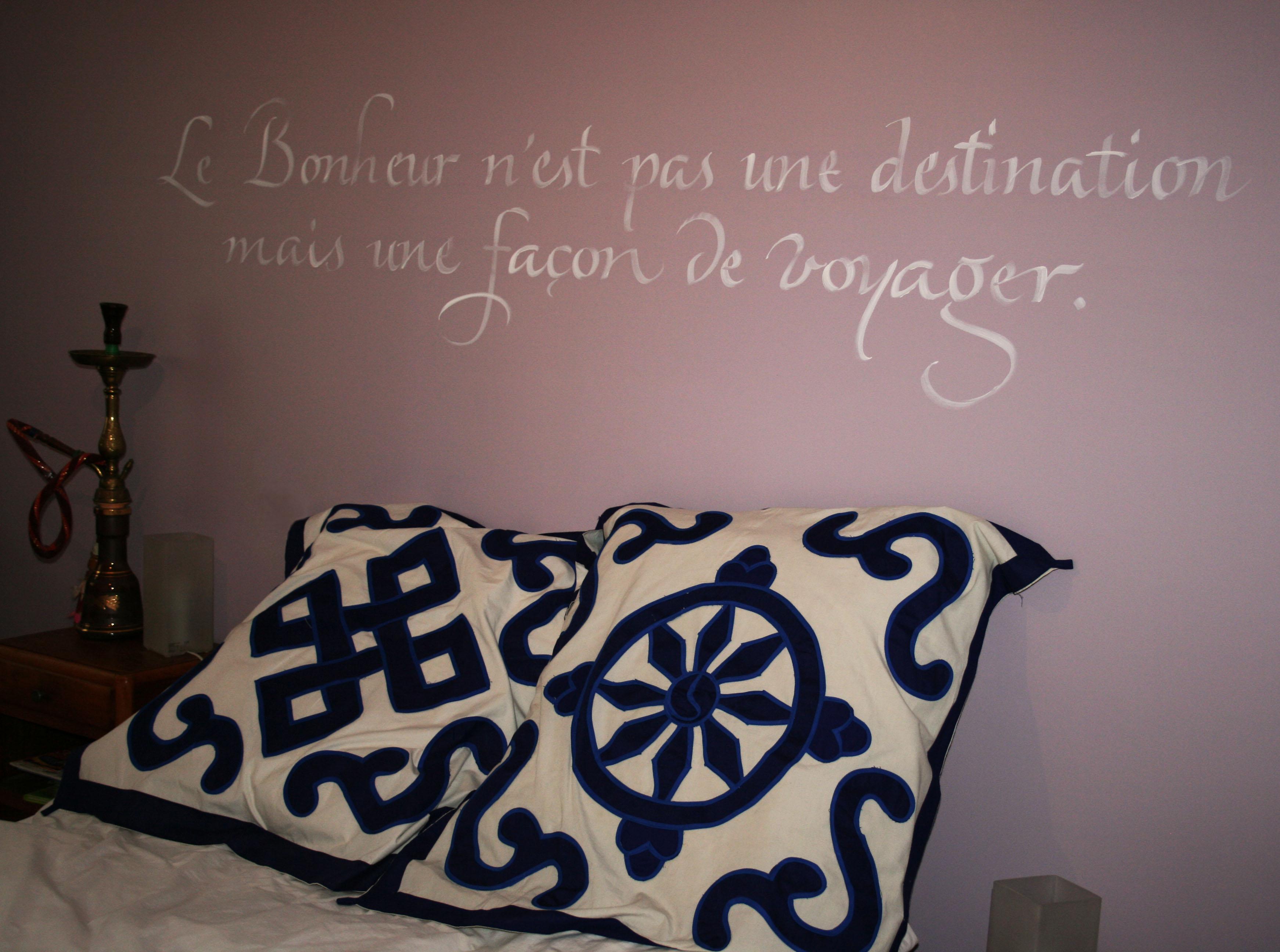 #calligraphie murale