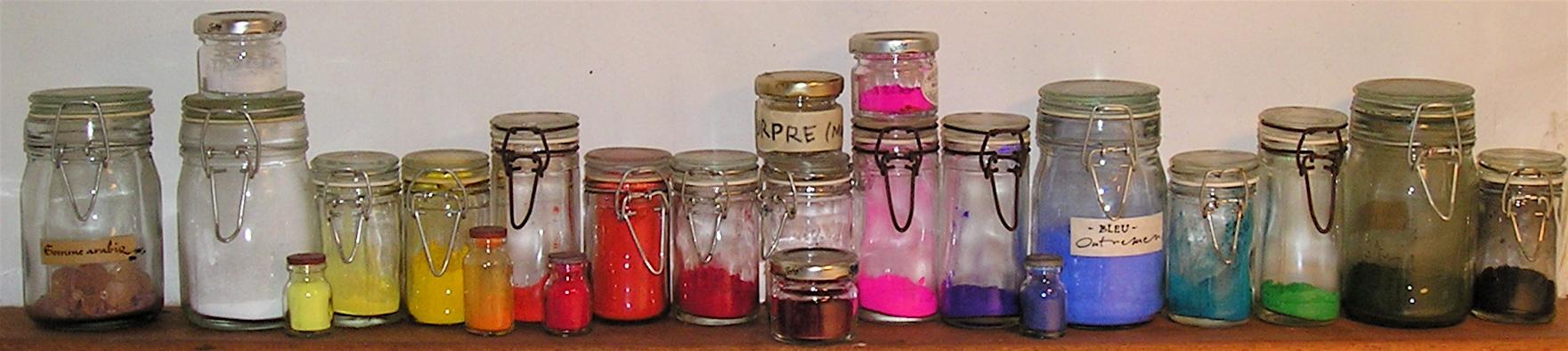 Pots pigments
