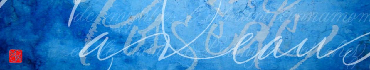 Marine  PORTE  DE  SAINTE  MARIE, artiste plasticienne, calligraphe